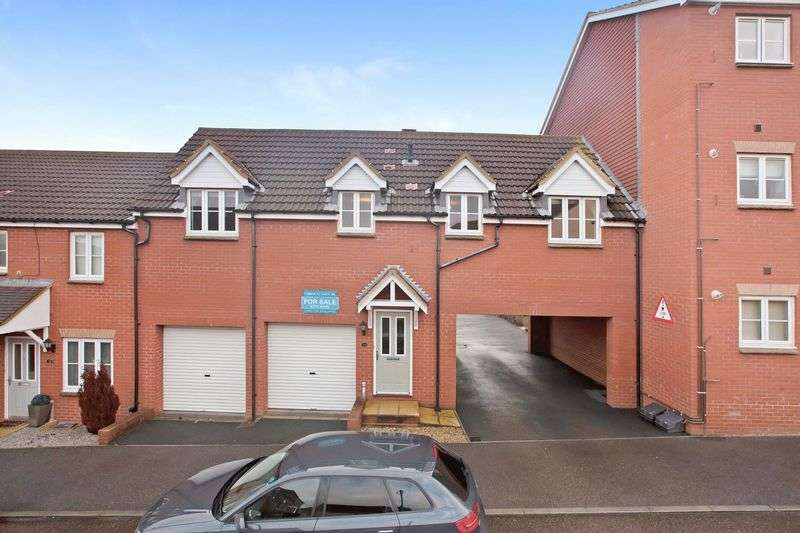 2 Bedrooms Terraced House for sale in Sandalwood Ride, Stockmoor, Bridgwater
