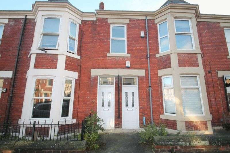 3 Bedrooms Flat for sale in Balmoral Terrace, Newcastle Upon Tyne