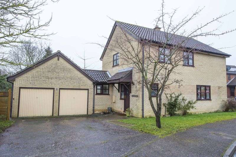 4 Bedrooms Detached House for sale in Croft Close, Wickhambrook
