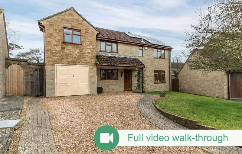 4 Bedrooms Detached House for sale in Martock