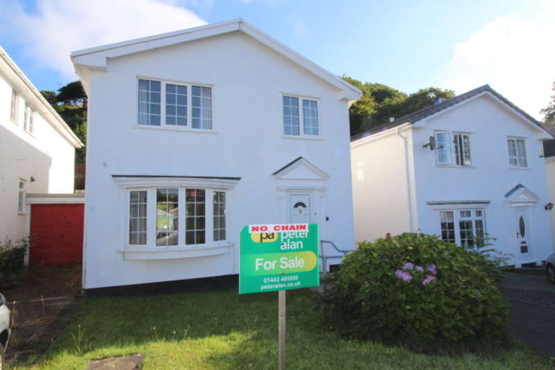 4 Bedrooms Link Detached House for sale in Graigwen Parc, Pontypridd