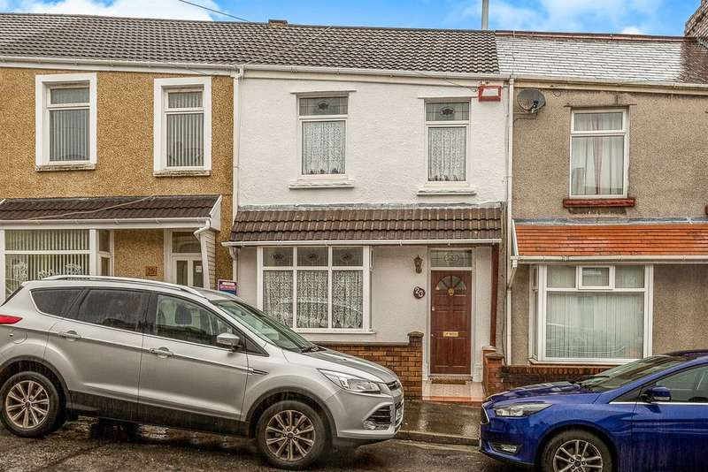 2 Bedrooms Terraced House for sale in Monterey Street, Manselton, Swansea