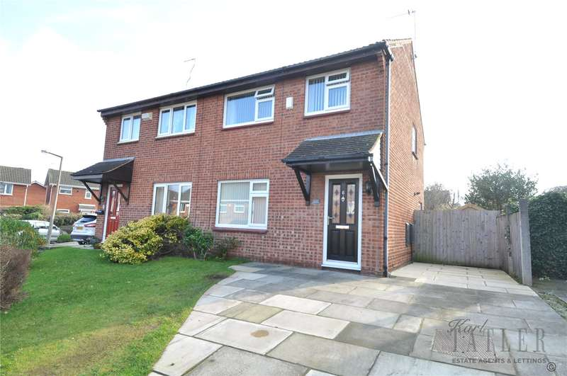 3 Bedrooms Semi Detached House for sale in Witney Close, Greasby, Wirral