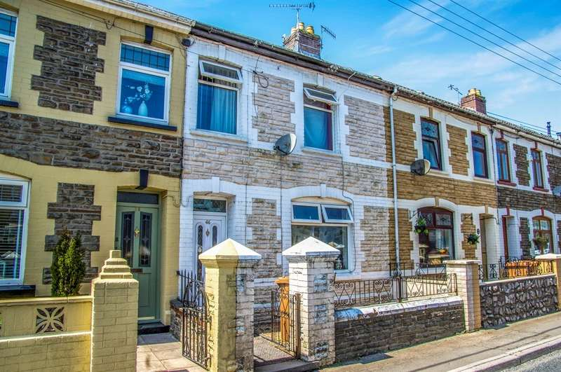 2 Bedrooms Terraced House for sale in Pengam Road, Aberbargoed, Bargoed