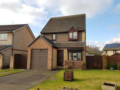 3 Bedrooms Detached House for sale in Rosebank Gardens, Irvine