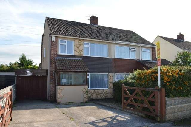 3 Bedrooms Semi Detached House for sale in Corondale Road, Milton, WESTON SUPER MARE