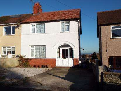 3 Bedrooms Semi Detached House for sale in Groes Road, Colwyn Bay, Conwy, LL29