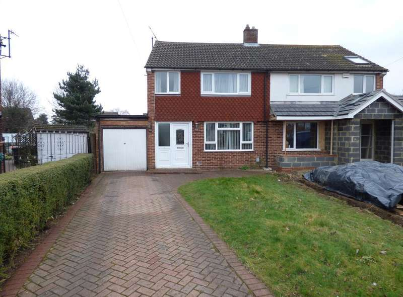 3 Bedrooms Semi Detached House for sale in Gilwell Close, Bedford, MK41 8BS