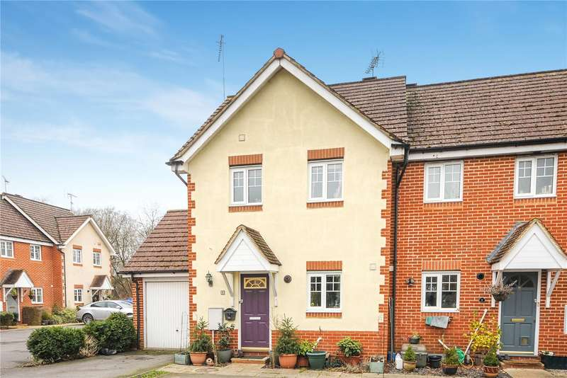 3 Bedrooms End Of Terrace House for sale in Saddler Corner, Sandhurst, Berkshire, GU47