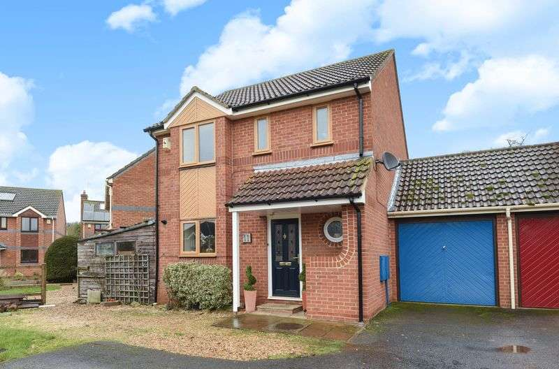 3 Bedrooms Detached House for sale in Anson Close, Marcham