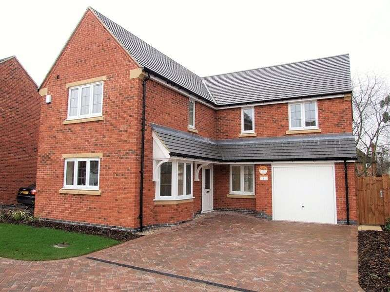 4 Bedrooms Detached House for sale in Wicket Close, Loughborough