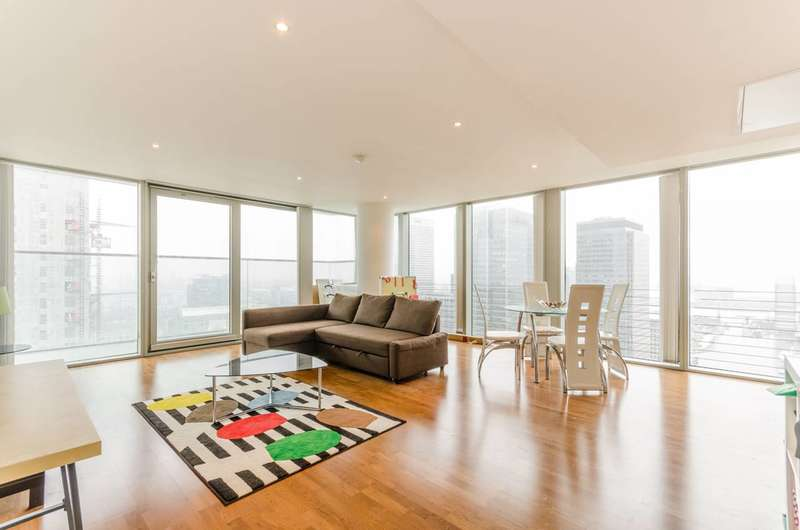 3 Bedrooms Flat for sale in Landmark East Tower, Canary Wharf, E14