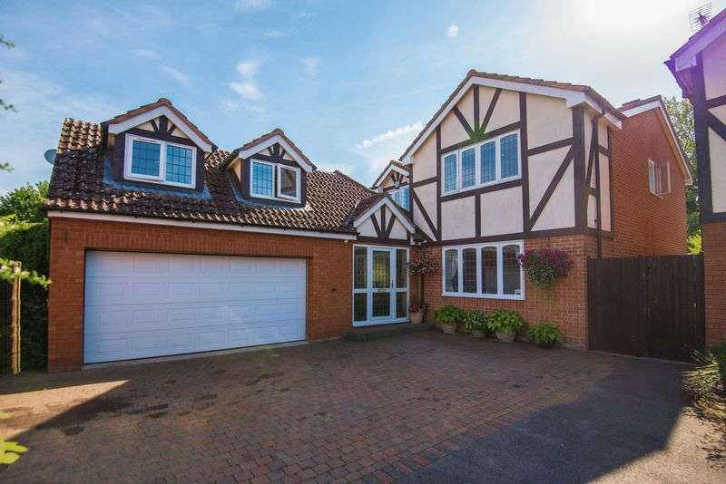 5 Bedrooms Detached House for sale in Mill End Close, Eaton Bray