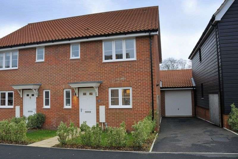 3 Bedrooms Semi Detached House for sale in Willowcroft Way, Cringleford, Norwich