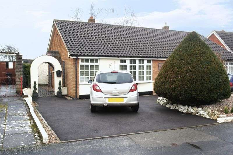 2 Bedrooms Semi Detached Bungalow for sale in Appledore Road, Walsall