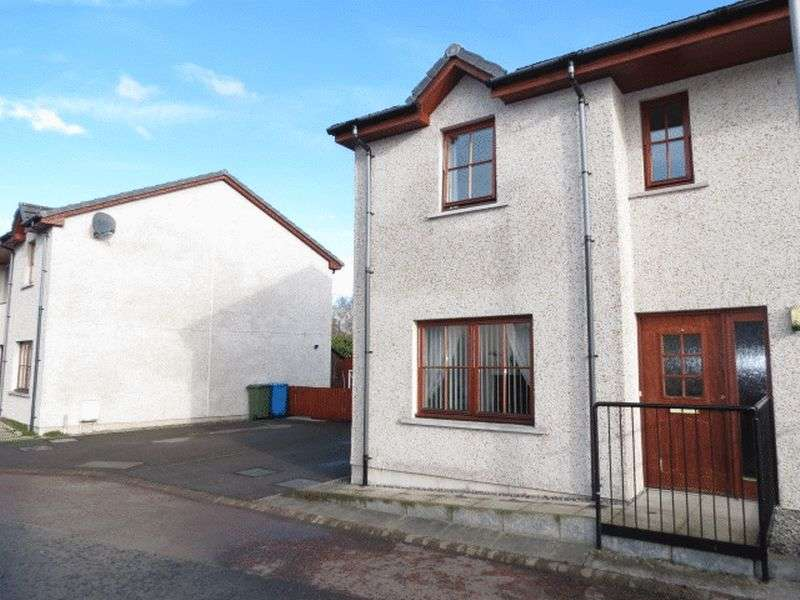 2 Bedrooms Semi Detached House for sale in Logan Way, Muir Of Ord