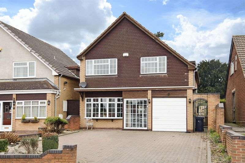 4 Bedrooms Detached House for sale in Norton Hall Lane, Norton Canes