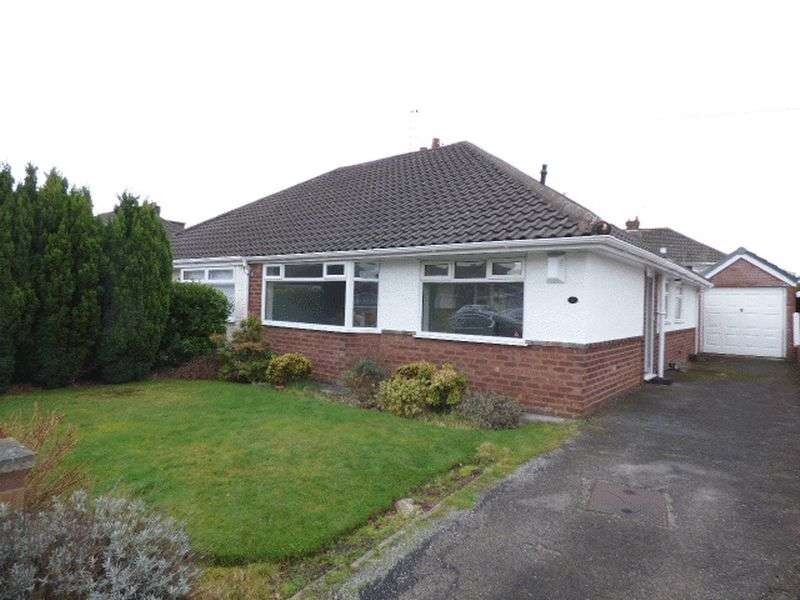 3 Bedrooms Semi Detached Bungalow for sale in Roedean Close, Liverpool