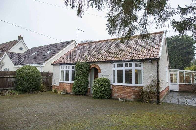 3 Bedrooms Detached Bungalow for sale in Fornham Road, Great Barton