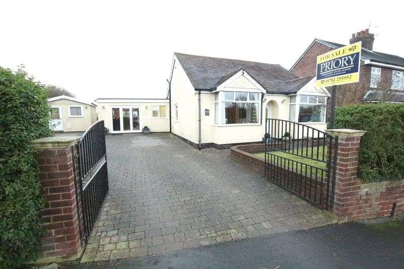 4 Bedrooms Detached Bungalow for sale in Newpool Road, Knypersley, Biddulph