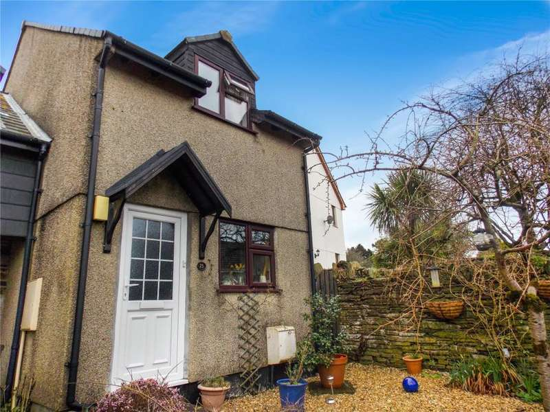 2 Bedrooms Semi Detached House for sale in Cowling Gardens, Menheniot, Liskeard