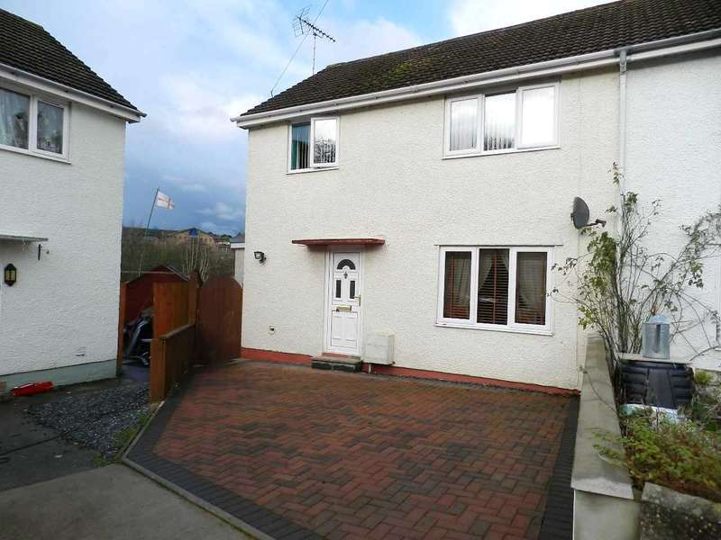 3 Bedrooms Semi Detached House for sale in Glen View, Merlins Bridge, Haverfordwest