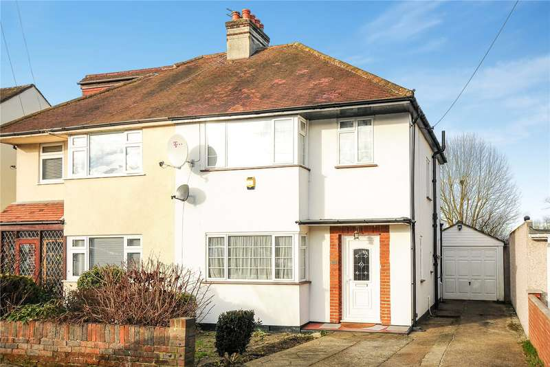 3 Bedrooms Semi Detached House for sale in Highland Road, Northwood, Middlesex, HA6