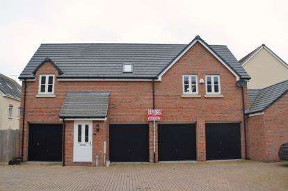 2 Bedrooms Detached House for sale in Wycombe Road Kingsway, Quedgeley, Gloucester, Gloucestershire