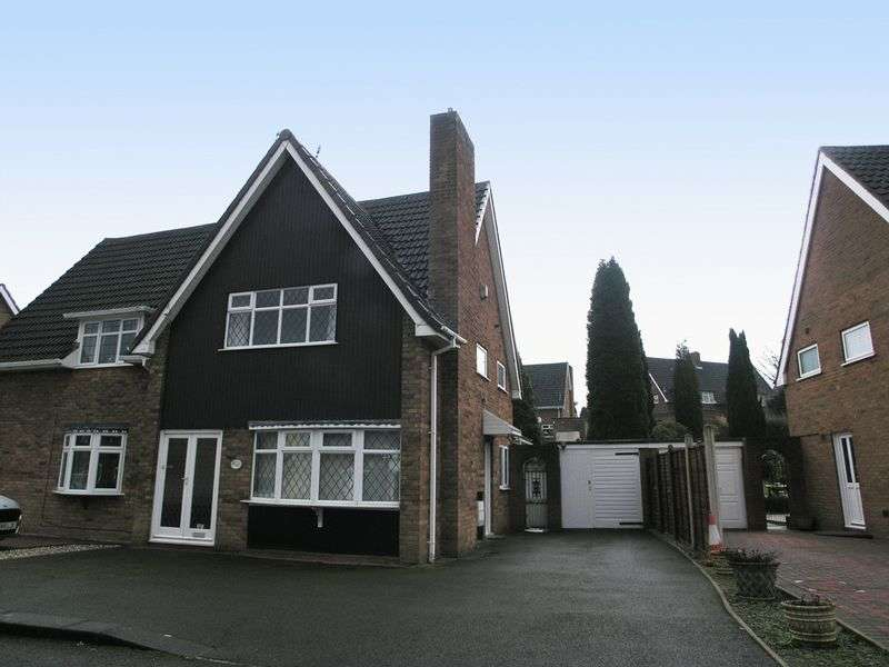 2 Bedrooms Semi Detached House for sale in DUDLEY, Russells Hall, Minehead Road