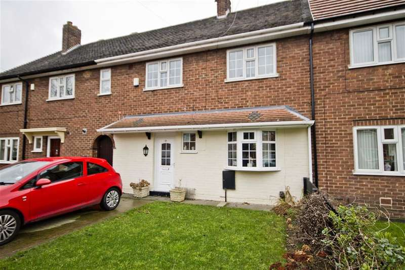 2 Bedrooms Terraced House for sale in Fremantle Crescent, Beechwood, Middlesbrough, TS4 3HR