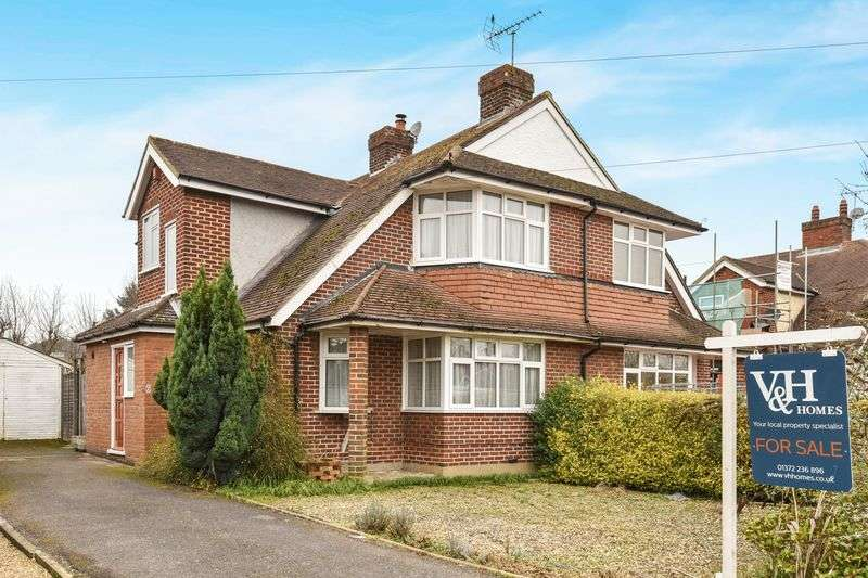 2 Bedrooms Semi Detached House for sale in Nutcroft Grove, Fetcham