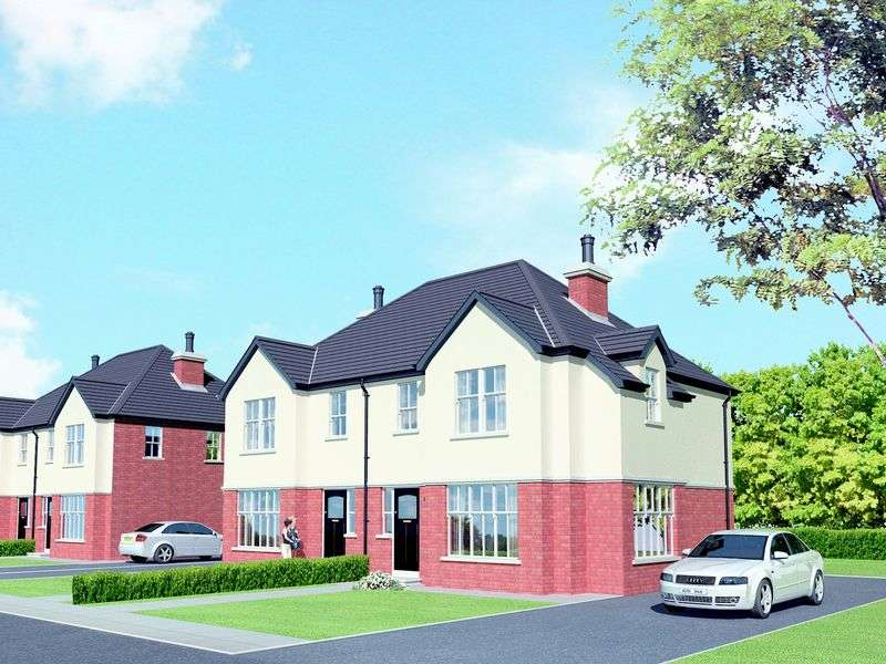 3 Bedrooms Semi Detached House for sale in 3 Fairways Manor, Portadown