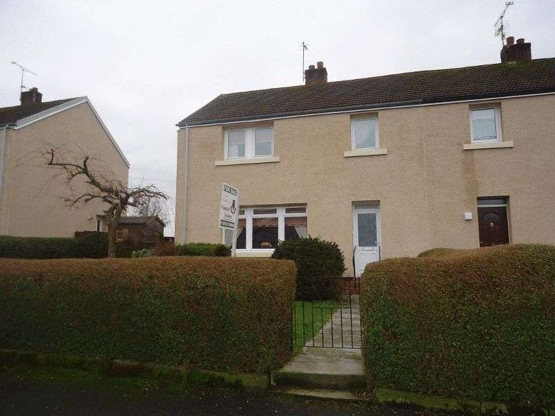 3 Bedrooms Semi Detached House for sale in Blackfaulds Street, Tillicoultry