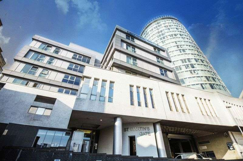 2 Bedrooms Flat for sale in St Martins Gate, Birmingham City Centre