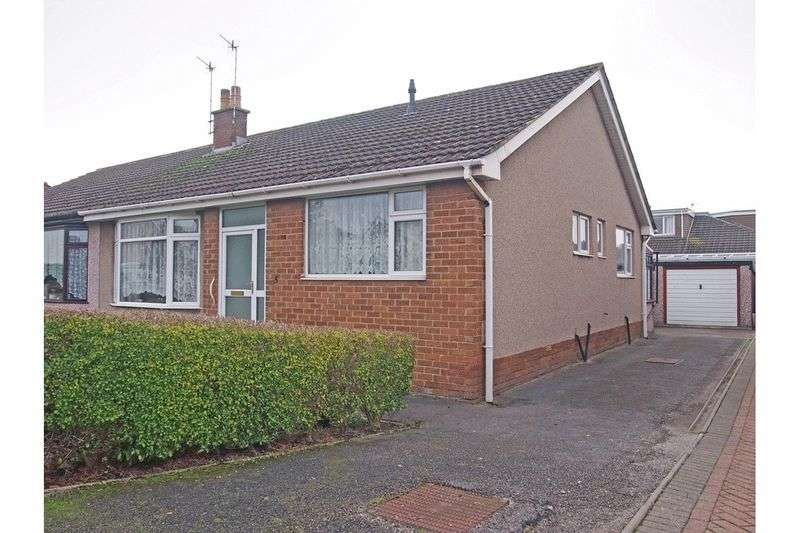 2 Bedrooms Semi Detached Bungalow for sale in Banbury Road, Morecambe