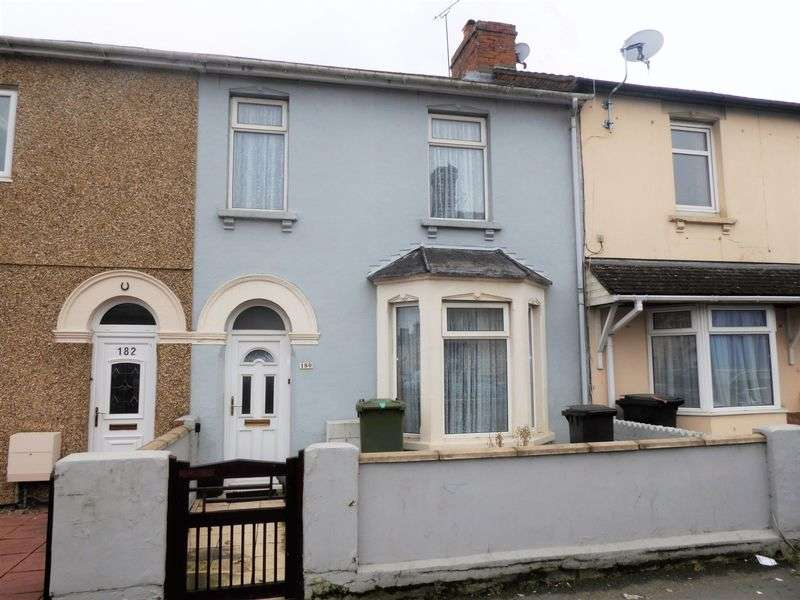 2 Bedrooms Terraced House for sale in Cricklade Road, Gorse Hill
