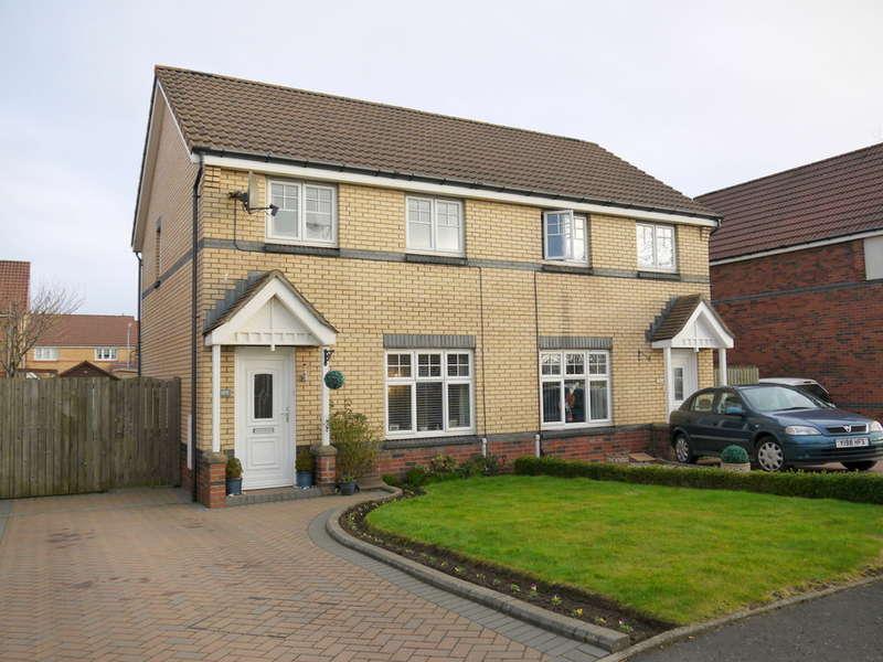 3 Bedrooms Semi Detached House for sale in Obree Avenue, Prestwick, KA9