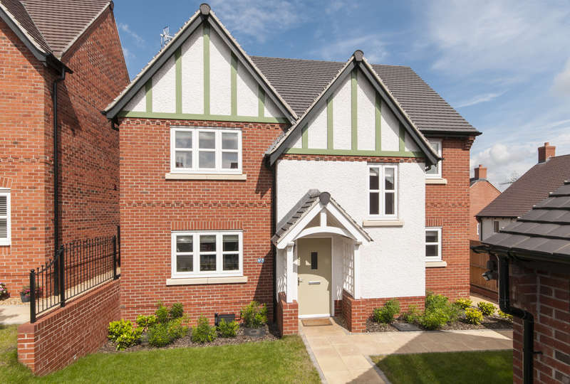 4 Bedrooms Detached House for sale in Martinet Close, Castle Donington