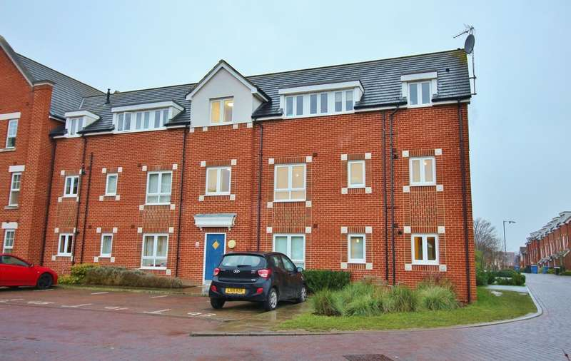 2 Bedrooms Flat for sale in Southalls Way, Norwich