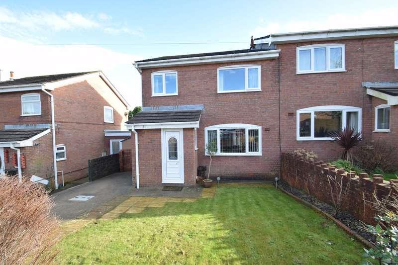 3 Bedrooms Semi Detached House for sale in 80 Westward Place, Llangewydd Court, Bridgend, Bridgend County Borough, CF31 4XB.