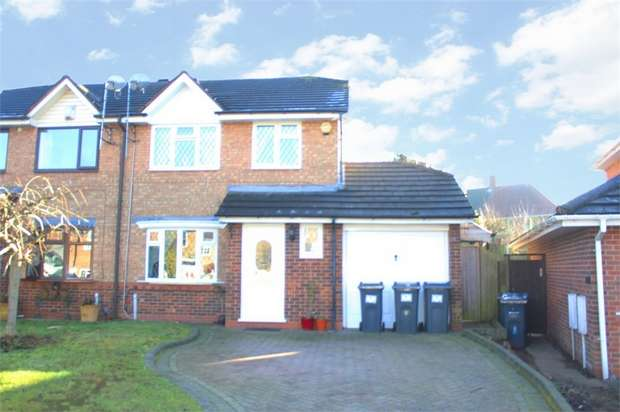 3 Bedrooms Semi Detached House for sale in Bagshawe Croft, Birmingham, West Midlands