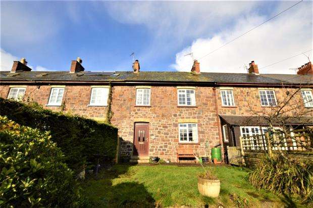 2 Bedrooms Terraced House for sale in Jubilee Terrace, Copplestone, Crediton, Devon