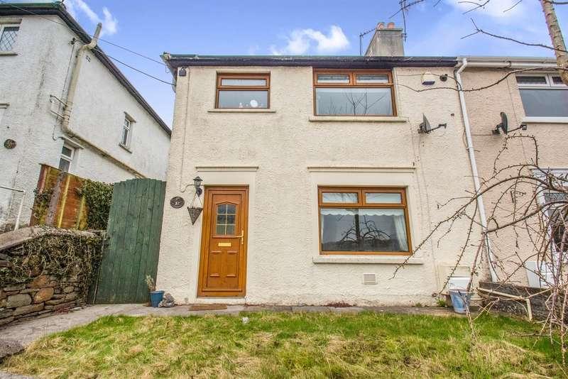 3 Bedrooms Semi Detached House for sale in Hillside Avenue, Llanharan, Pontyclun