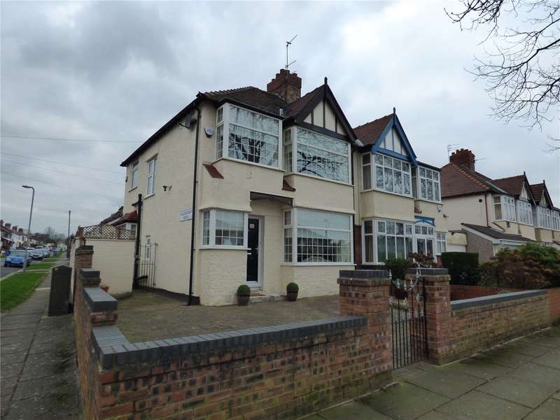 3 Bedrooms Semi Detached House for sale in Blackmoor Drive, Liverpool, Merseyside, L12