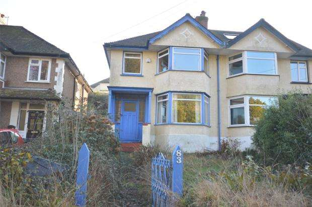 3 Bedrooms Semi Detached House for sale in Peaslands Road, Sidmouth, Devon