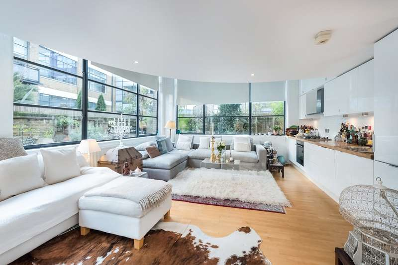 2 Bedrooms Flat for sale in Chiswick Green Studios, 1 Evershed Walk, Chiswick, London, W4