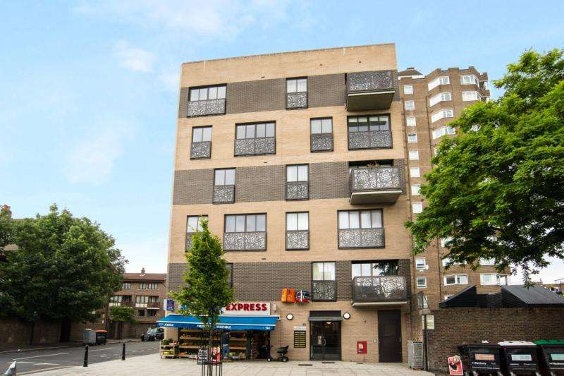 2 Bedrooms Flat for sale in Hitchcock House, 194 Pitfield Street, London, N1