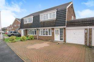 3 Bedrooms Semi Detached House for sale in Archer Way, Swanley, Kent, Archer Way