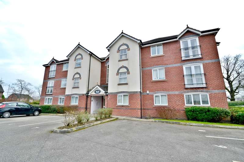 2 Bedrooms Flat for sale in Downes Way, Sharston