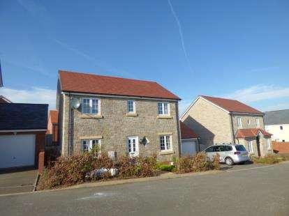 4 Bedrooms Detached House for sale in Cranbrook, Exeter, Devon